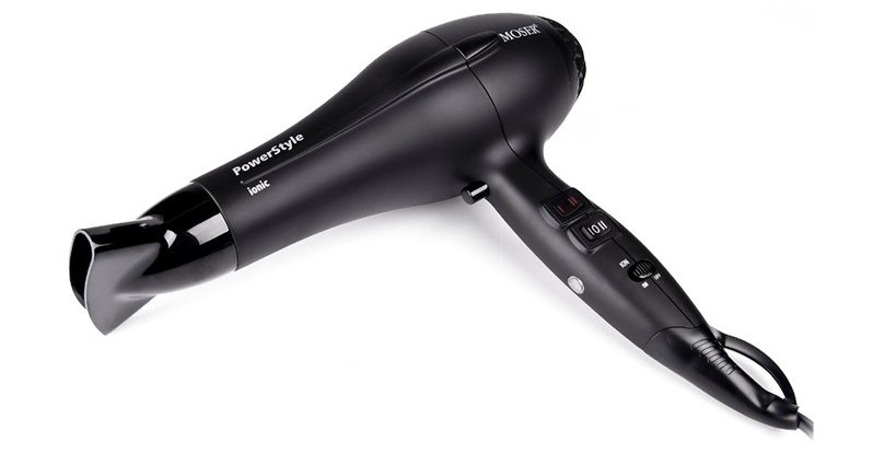 Фен Moser Hair dryer PowerStyle 4320-0050 Black