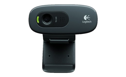 Веб-камера  Logitech HD Webcam C270 Black (960-000636)