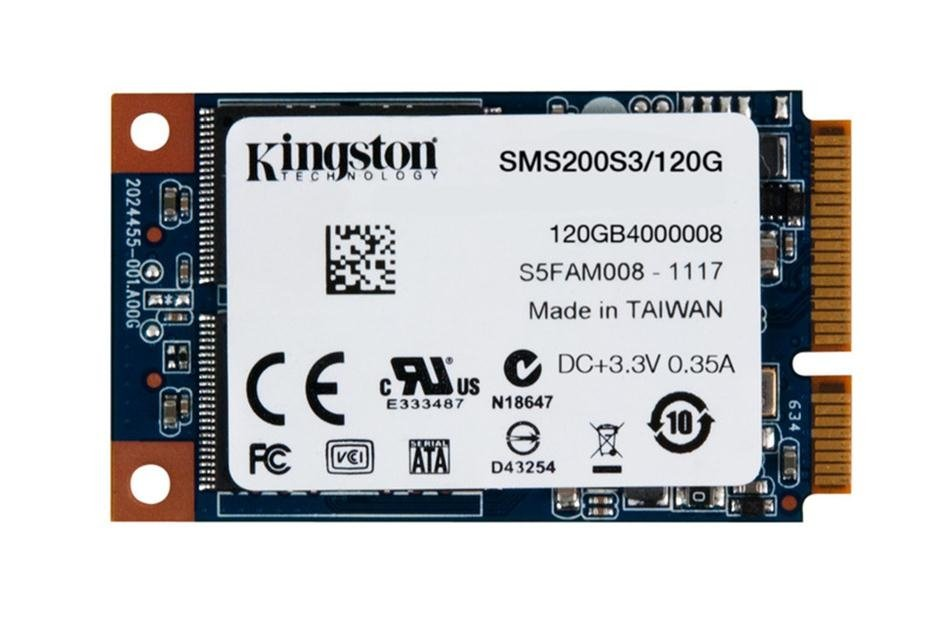 SSD накопитель Kingston SSDNow Solid State Drive 120 GB SMS200S3/120G (EAN: 740617217049)