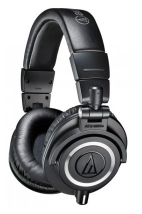Наушники Audio Technica ATH-M50X Black