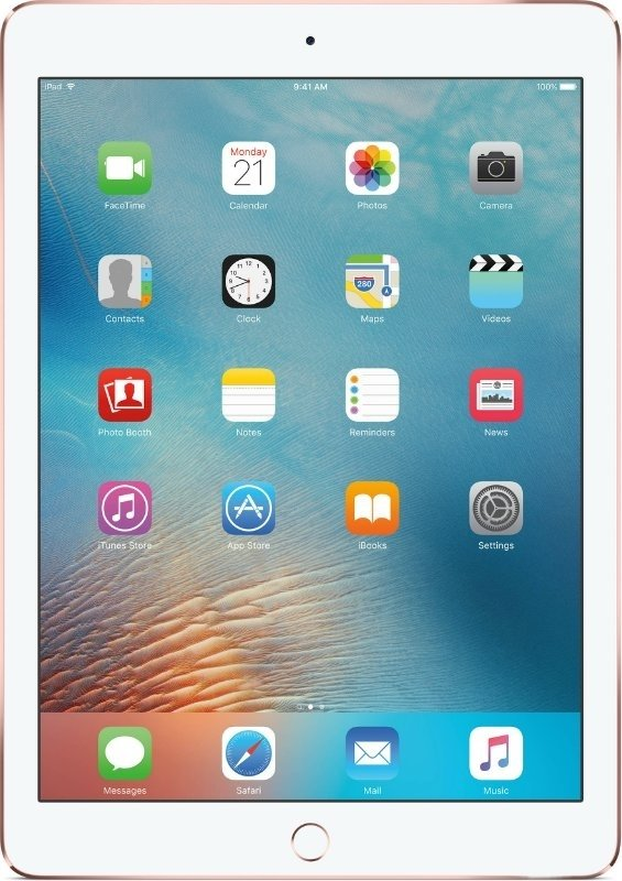 Планшет Apple iPad Pro Wi-Fi + Cellular 256GB Rose Gold, Model A1674 MLYM2RK/A