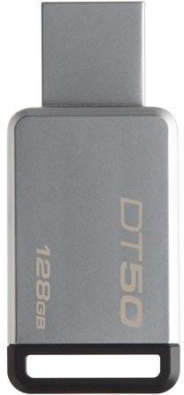 USB Flash Kingston 128GB USB 3.0 DataTraveler 50 (Metal/Black) DT50/128GB