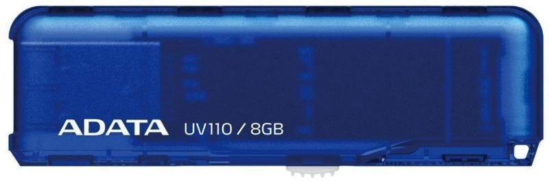 USB Flash A-Data DashDrive UV110 8GB (AUV110-8G-RBL) Blue