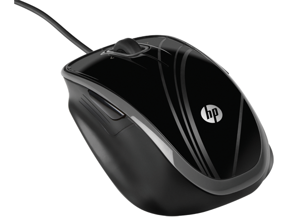 Мышь HP USB 5-Button Optical Comfort BR376AA