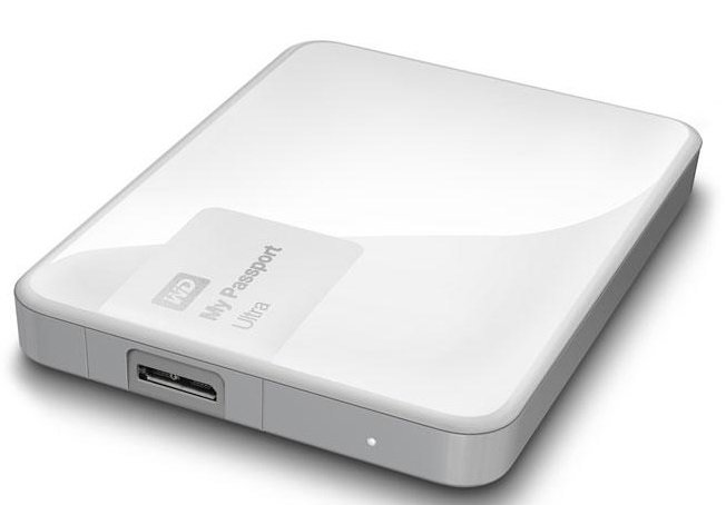 Внешний жёсткий диск WD My Passport Ultra 500Gb WDBBRL5000AWT-EEUE White