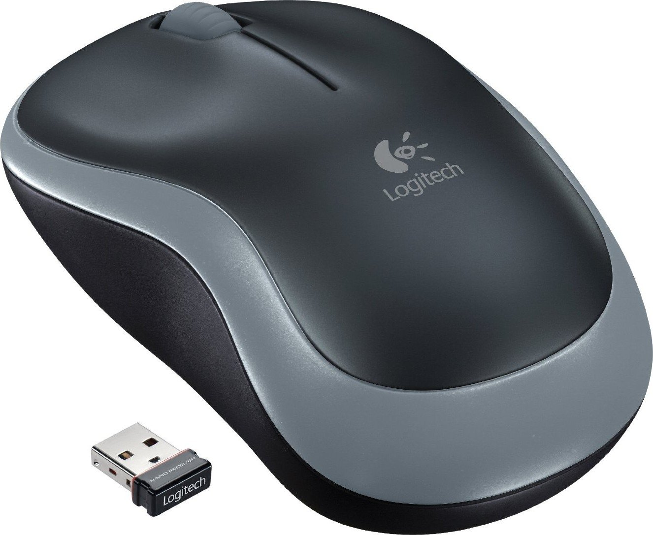 Мышь Logitech Mouse M185 Grey