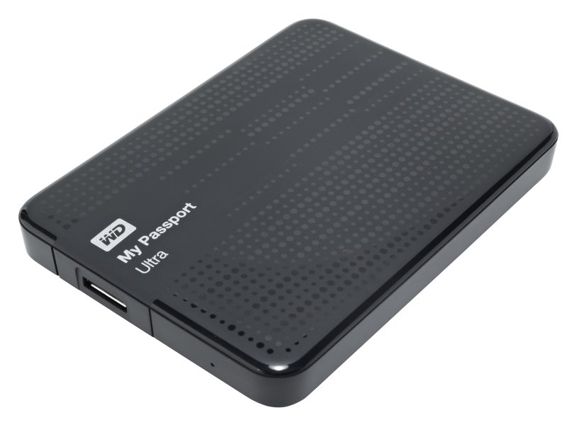 Внешний жёсткий диск WD My Passport Ultra 500Gb  WDBBRL5000ABK-EEUE