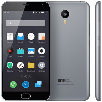 купить Meizu M2 Note Grey 16Gb