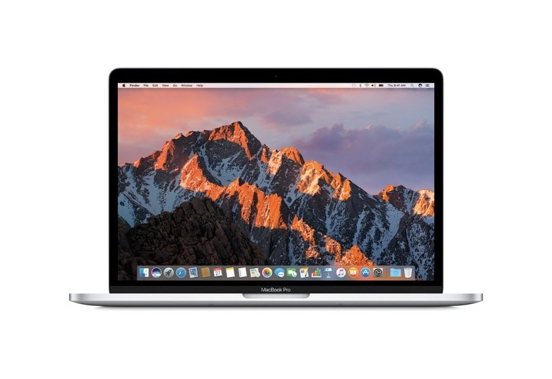 Ноутбук  Apple  MacBookPro 13-inch with Touch Bar , Model A1706 MPXY2RU/A  Silver