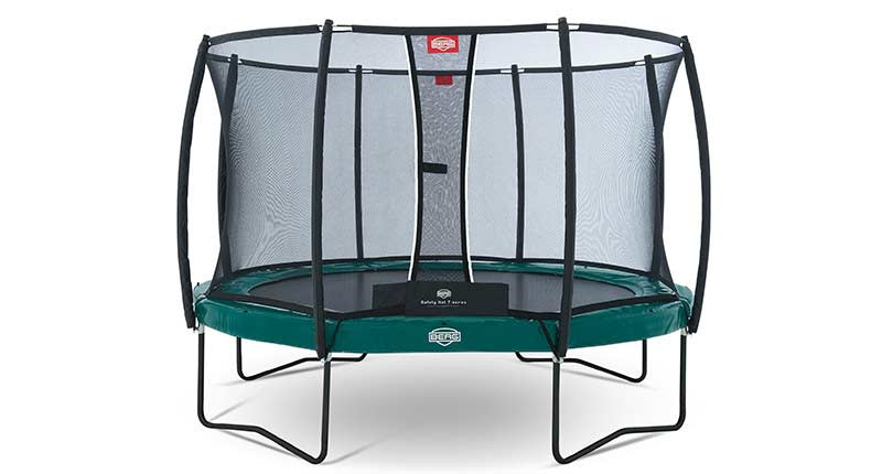 Батут Berg Elite+ Regular + Safety Net T-series 380