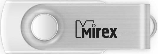 USB флэш-накопитель Mirex SWIVEL WHITE 4GB (13600-FMUSWT04)