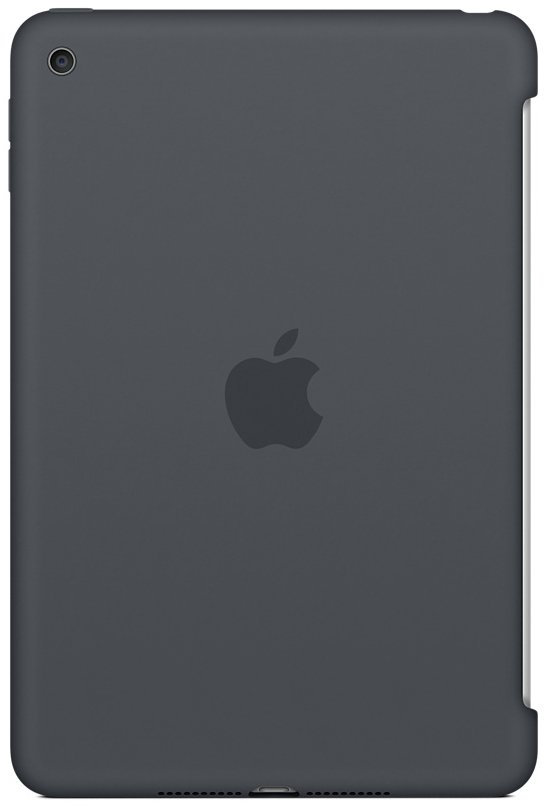 Чехол  Apple для iPad mini 4 Silicone Case  MKLK2ZM/A Charcoal Gray