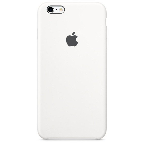 Чехол для Apple iPhone 6s Plus Silicone Case MKXK2ZM/A White