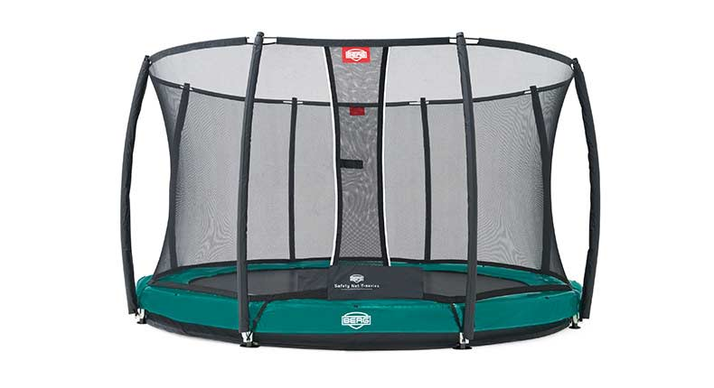 Батут Berg Elite+ Inground + Safety Net T-series 380