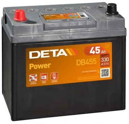 Аккумулятор DETA  POWER   12V 45AH 330A ETN 1(L+) B0