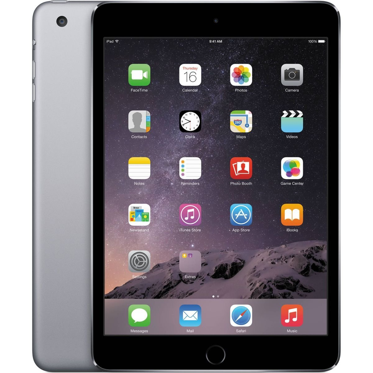 Планшет Apple iPad mini 4 Wi-Fi 128GB Space Gray Model A1538 MK9N2RK/A