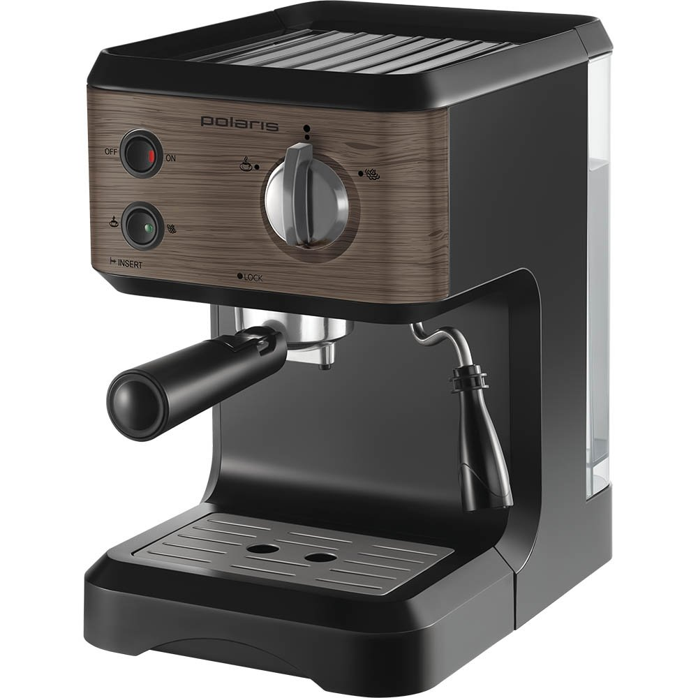 Кофеварка Polaris PCM 1524E Wood espresso