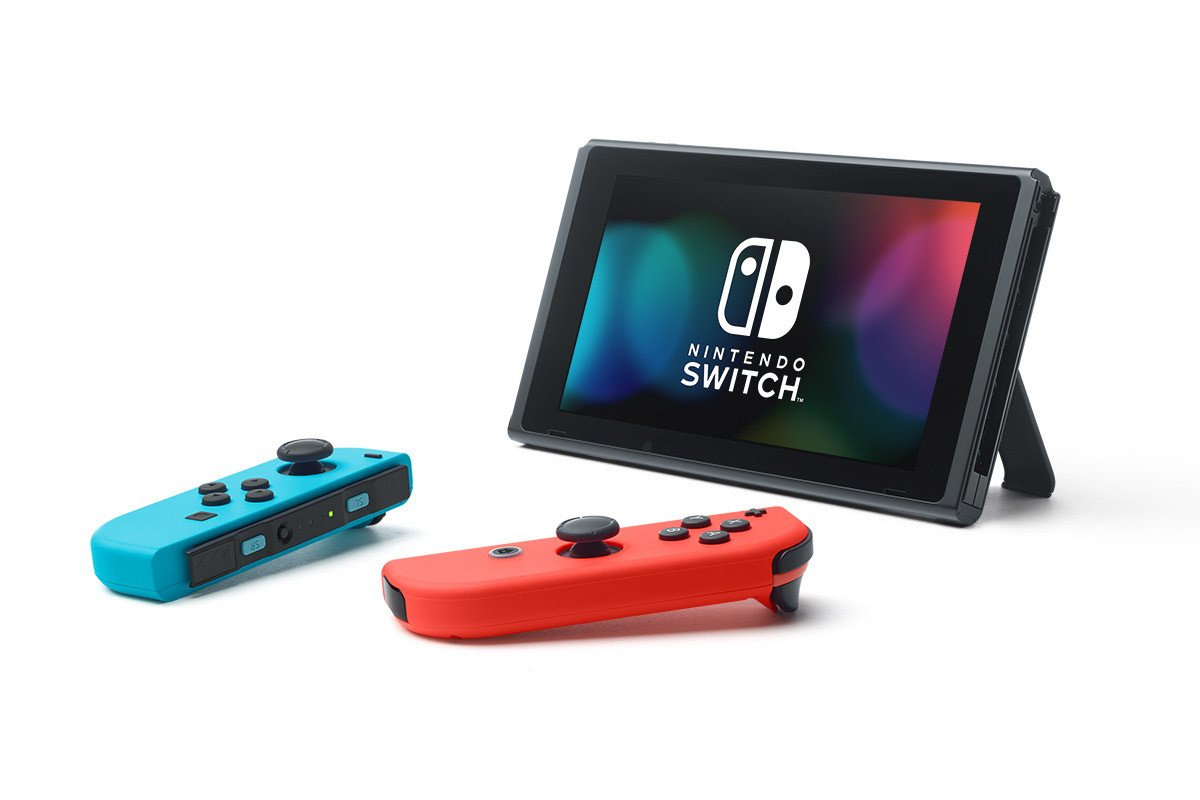 Игровая консоль Nintendo  Switch  ConSWT2  Red-Blue