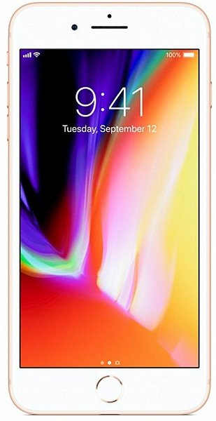 Смартфон Apple  iPhone 8+ 64GB Gold  ( MQ8N2RM/A)
