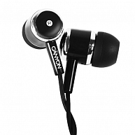 Наушники Canyon Stereo earphones CNE-CEP01B Black