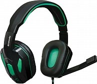 Наушники Defender Warhead G-275 green+black