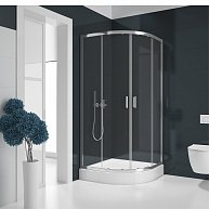 Душевая кабина NEW TRENDY SUVIA ZS-0002 R55 90x90x185