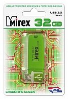 Usb флэш-накопитель Mirex CHROMATIC GREEN 32GB USB 3.0 (13600-FM3CGN32) GREEN