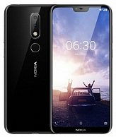 Смартфон  Nokia  6.1 Plus (4GB/64GB)  Dual / TA-1116  (черный)