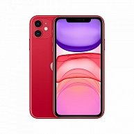 Смартфон  Apple  iPhone 11 (128GB) (PRODUCT) (Model A2221) (RED)