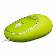 Мышь SVEN RX-555 Antistress Silent USB Green