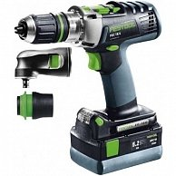 Дрель Festool PDC 18/4 Li 5,2-Set QUADRIVE