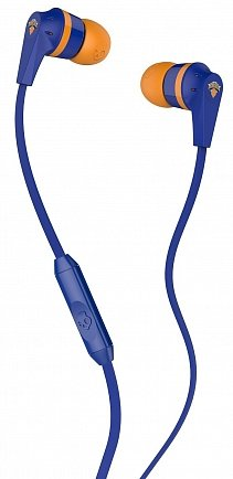 купить Гарнитура Skullcandy Ink'd 2.0 NBA New York with Mic SGIKGY-167