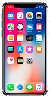 Смартфон  Apple  iPhone X 64GB model A1901  Silver