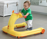 Каталка-ходунки Chicco 123 Baby Walker Orange