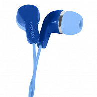 Наушники Canyon Stereo Earphones with inline microphone CNS-CEPM02BL Blue
