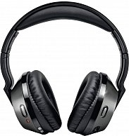 Наушники  Philips  SHC8535/10 Hi-Fi Wireless (FM)  Black-Silver
