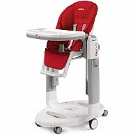 Стульчик для кормления PEG PEREGO Tatamia Follow Me Fragola (IH02000000PL59)