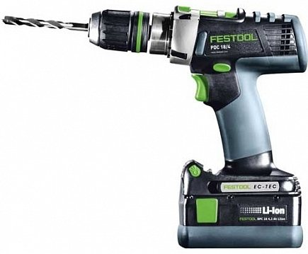 купить Дрель Festool PDC 18/4 Li 5,2-Plus QUADRIVE