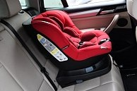 Автокресло  Coletto Millo  isofix Red