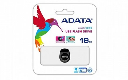 купить USB Flash A-Data Dash Drive UD310 16 GB  Black