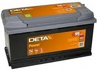 Аккумулятор  DETA  POWER   95 AH 800 A ETN 0(R+) B13