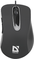 Мышь  Defender  MM-070 Wired optical mouse Datum  Black