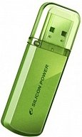 USB Flash Silicon Power Helios 101 32Gb (SP032GBUF2101V1N) Green