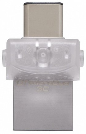 купить USB Flash Kingston 16GB DT microDuo 3C, USB 3.0/3.1 + Type-C DTDUO3C/16GB
