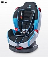 Автокресло Caretero SPORT TURBO BLUE tero-130