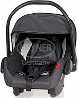 Автокресло HEYNER  Baby SuperProtect (0+)   чёрное