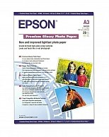 Бумага Epson Premium Semigloss Photo Paper A3+, 20л