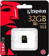 Карта памяти Kingston 32GB microSDHC CL10 UHS-I SDCA10/32GB