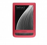 Электронная книга PocketBook TOUCH LUX 3 626  красный
