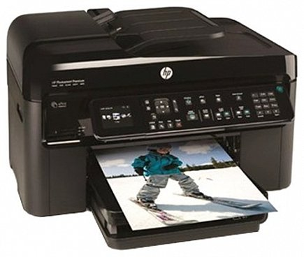купить Мфу HP Photosmart Premium Fax e-AiO Printer C410a (CQ521C)